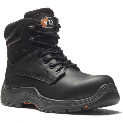 VR600.01 BISON IGS BLACK WAXY HIDE BOOT
